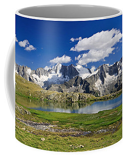 Coffee Mug featuring the photograph Strino Lake - Italy by Antonio Scarpi