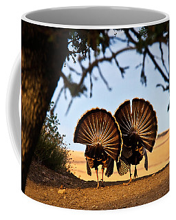Coffee Mug featuring the photograph Strutten Their Stuff by Beth Sargent