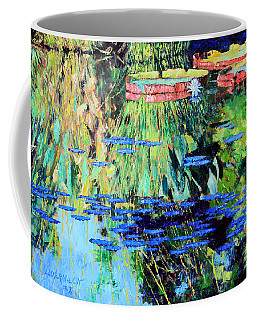 Summer Colors On The Pond Coffee Mug