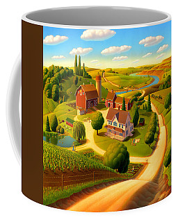 Rural Scene Coffee Mugs
