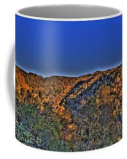 Coffee Mug featuring the photograph Sun On The Hills by Jonny D