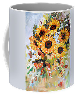 Sunflowers Coffee Mug by Dorothy Maier