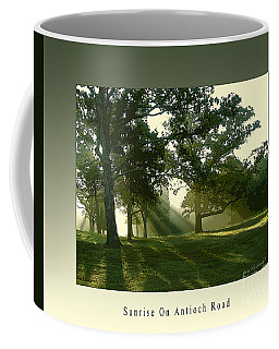 Sunrise On Antioch Road Coffee Mug