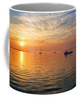 Sunrise On The Chesapeake Bay Coffee Mug