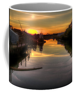 Sunrise On The Petaluma River Coffee Mug