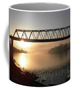 Sunrise Over The Ohio Coffee Mug