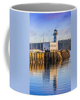 Sunset Over Scarborough Lighthouse Coffee Mug