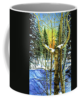 Coffee Mug featuring the painting Supplication-psalm 28 Verse 2 by Barbara Jewell
