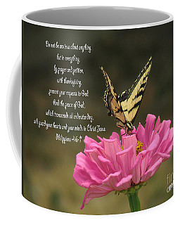 Swallowtail On A Zinnia Coffee Mug
