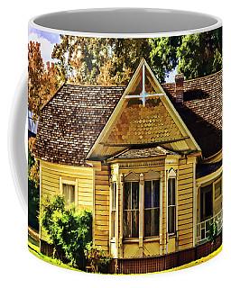 Coffee Mug featuring the painting Sweet Home by Muhie Kanawati