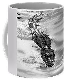 Swimming Gator Coffee Mug