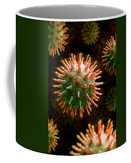 Swine Influenza Virus H1n1 Coffee Mug