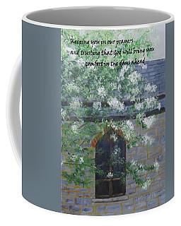 Sympathy Card With Church Coffee Mug