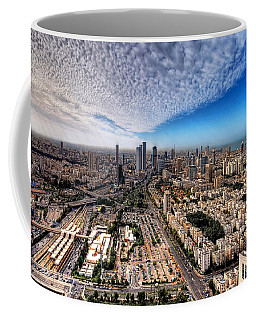 Tel Aviv Skyline Coffee Mug