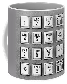 Telephone Touch Tone Keypad Coffee Mug