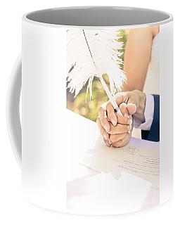Tender Pledge Of Commitment Coffee Mug