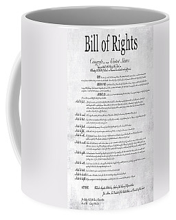 The Bill Of Rights H K Coffee Mug