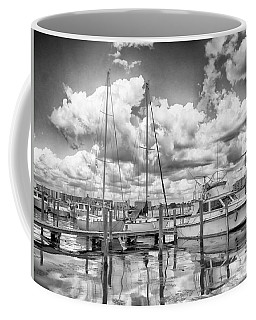Coffee Mug featuring the photograph The Boat by Howard Salmon