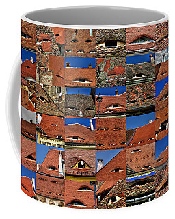 The City's Eyes Sibiu Hermannstadt Romania Coffee Mug