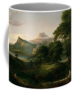 The Course Of Empire The Arcadian Or Pastoral State Coffee Mug