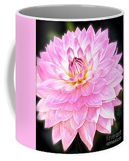 The Vivid Pink Dahlia Coffee Mug