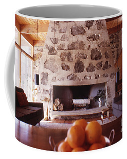 The Eliot Noyes Ski Cabin 1964 Coffee Mug