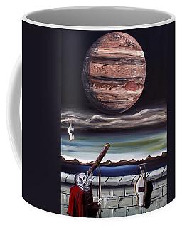 The Eternal Staring Contest Coffee Mug