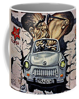 The Famous Kiss Coffee Mug