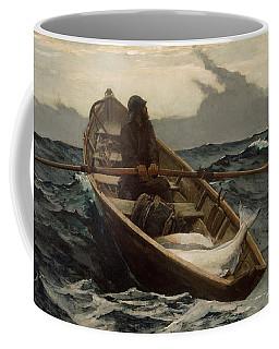 The Fog Warning Coffee Mug by Winslow Homer