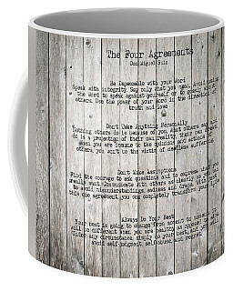 The Four Agreements Coffee Mug