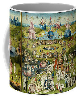 The Garden Of Earthly Delights Coffee Mug by Hieronymus Bosch
