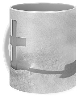Coffee Mug featuring the photograph The Grave Of Bobby Kennedy by Cora Wandel