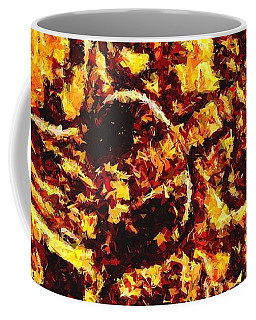 Coffee Mug featuring the digital art The Guitar Man by Glenn McCarthy Art and Photography