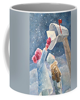 The Letter Coffee Mug by Marilyn Jacobson