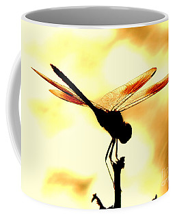 The Light Of Flight Upon The Mosquito Hawk At The Mississippi River In New Orleans Louisiana Coffee Mug by Michael Hoard