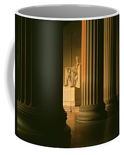 The Lincoln Memorial In The Morning Coffee Mug