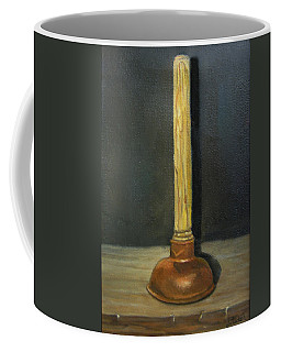 The Lone Plunger Coffee Mug