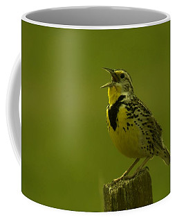 The Meadowlark Sings Coffee Mug
