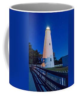 The Ocracoke Lighthouse On Ocracoke Island On The North Carolina Coffee Mug