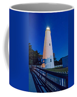 The Ocracoke Lighthouse On Ocracoke Island On The North Carolina Coffee Mug