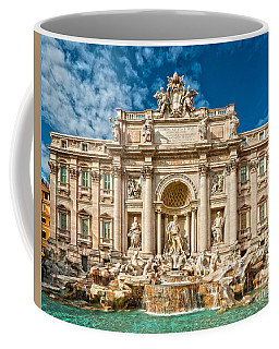 The Trevi Fountain - Rome Coffee Mug