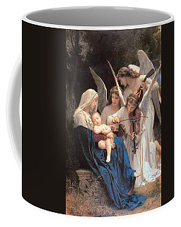 The Virgin With Angels Coffee Mug