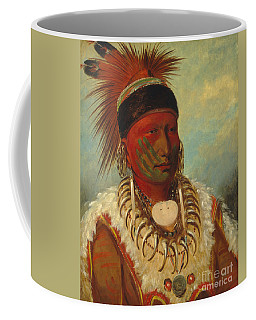 The White Cloud Head Chief Of The Iowas Coffee Mug