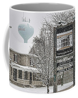 The Whitehouse Inn Sign 7034 Coffee Mug