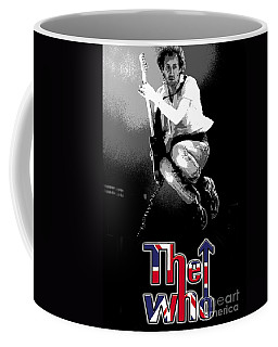 The Who Coffee Mug by Doc Braham