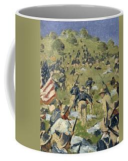 Theodore Roosevelt Taking The Saint Juan Heights Coffee Mug