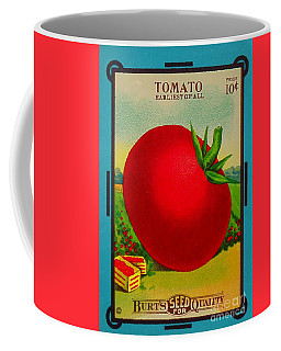 Tomato Seed Package. Antique. 100 Years Old Coffee Mug