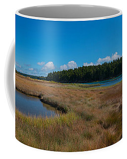 Thompson Island In Maine Panorama Coffee Mug