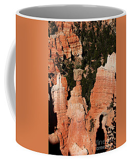 Coffee Mug featuring the photograph Thors Shadow by Jemmy Archer