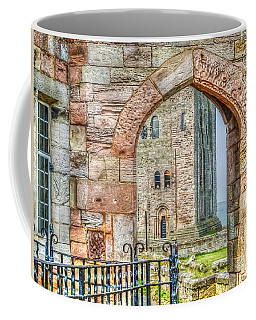 Coffee Mug featuring the photograph Through The Arch by Susan Leonard
